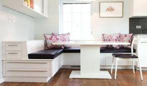 Dining Table With Storage Bench Kitchen