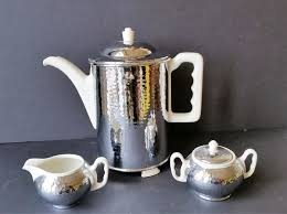 Coffee Pot With Accessories Furstenberg Germany 1940 1950