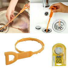 Natural Sink Clog Remover by Accessorygeeks Com Orange Snake Drain Free Shipping