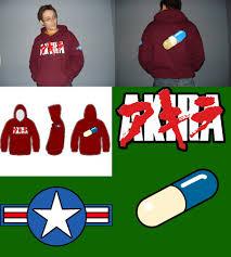 akira hoodie shirt with design by frabulator on deviantart
