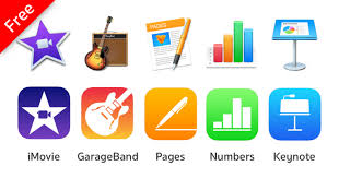 Apple Imovie Garageband Iwork Free For All Users