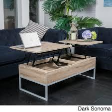 Coffee Table Rising Top Furniture Coffee Tables Dark Cherry Coffee
