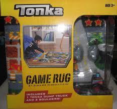 100 Tonka Truck Games UPC 765206138406 TONKA Game Rug With 2 TONKA DUMP TRUCKS And 2