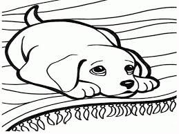 Download Baby Dog Coloring Pages