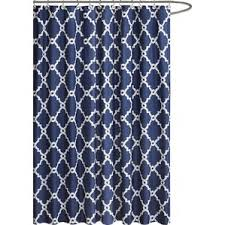 Brylane Home Bathroom Curtains by Geometric Shower Curtains You U0027ll Love Wayfair