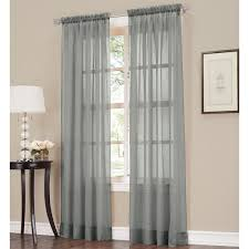 Blue Crushed Voile Curtains no 918 erica sheer crushed voile single curtain panel free