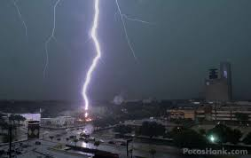 The Bayou Citys Own Storm Chaser Hank Schyma Was Able To Capture A Lightning Strike During
