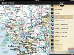 Rand McNally IPad App McNallys Road Atlas