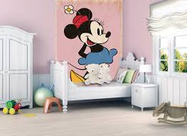 Minnie Mouse Bedroom Accessories Ireland by Minnie Mouse Wallpaper Wall Murals Ireland