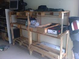 wood pallet storage shelving cheap 5 steps with pictures