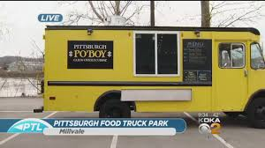 Food Truck Park Opening In Millvale « CBS Pittsburgh Pgh Hal Truck On Twitter Set Up At Sllman St For Italian Pittsburgh Food Truck Boom Parmesan Princess Food Trucks Home Facebook Truck Catering Burgh Bites On Board The Taco Vdoo Brewery Hosting Fall Kickoff And Epic Rally Wtaetv The Park Opens Keep Checking Our Newslocations South Side Bbq Company 7 Delicious In Beautiful Food Park Gypsy Queen 40 Rallying Massive Festival
