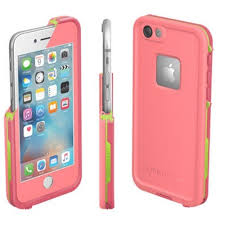 LifeProof Fre Case suits iPhone 6 6S Sunset Pink