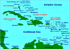 Map Of The Caribbean Islands