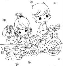 Awesome Idea Precious Moments Nativity Coloring Pages 292 Best Printable Images
