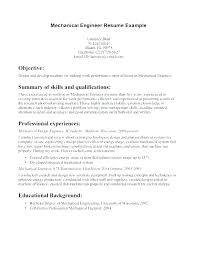 Engineering Resume Samples Pdf Mechanical Engineer Example Objective Best Examples Ideas On Good Entry Level Ca