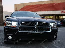 dodge charger led drl on high beam 9005 led bulbs ijdmtoy