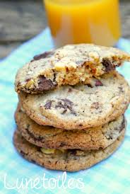 recette de cuisine cookies cookies aux pépites de chocolat moelleux amour de cuisine