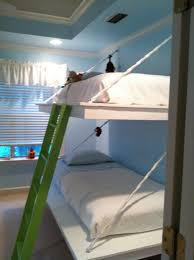 hanging bunk beds free plans at ana white com kids bedroom