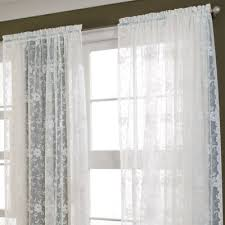 Jcpenney Sheer Curtain Rods by Jcp Home Shari Lace Rod Pocket Sheer Panel