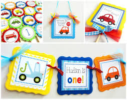 100 Truck Birthday Party Supplies And Car Banner For Boys On Storenvy