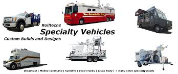 Manufacturer Of Specialty Vehicles - Rolltechs Specialty Vehicles