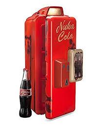 amazon com fallout nuka cola machine mini refrigerator appliances