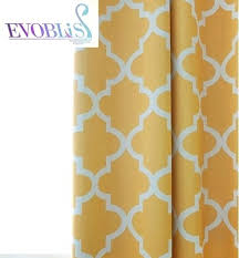 geometric pattern curtains canada orange blackout curtains teawing co