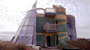 These Earthship Homes In New Mexico Are f The Grid Made With