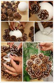 Pine Cone Christmas Tree Ornaments Crafts 18 the most cheapest u0026 astonishing diy pine cones christmas