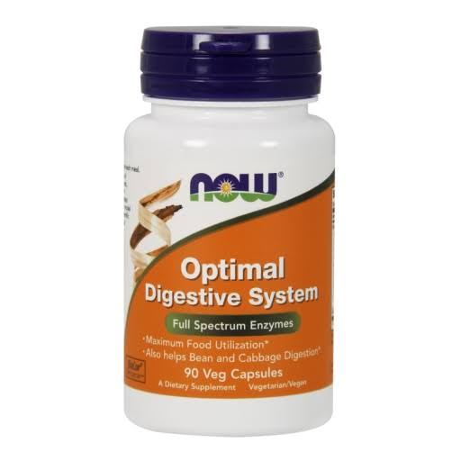 NOW Foods Optimal Digestive System Supplement - 90 Count