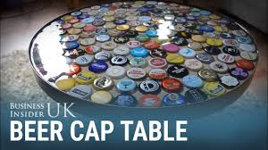 This Bottle Cap Table Was Made Over A Weekend For £60 - YouTube The Best 28 Images Of How To Make A Bottle Cap Bar Top Virginia Tech Beer Cap Table Timelapse Youtube 25 Diy Bottle Lamps Decor Ideas That Will Add Uniqueness To Your Bar Stools Red Industrial Vibe Man Collects Caps For 5 Years Redo His Kitchen And Unique Ideas On Pinterest Art Homebrewing Fishing Beer W Epoxy Keezer Lid Coffee Rascalartsnyc How Bead Beautiful Tops 45 Cheap Outdoor Top Home