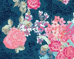 Coral And Navy Baby Bedding by Navy Floral Crib Bedding Baby Bedding Coral And Navy