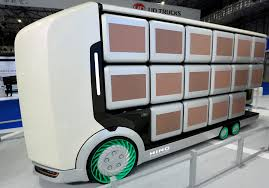 100 Motor Truck Cargo Future Delivery Japanese Trucks Designed With No Cabin And
