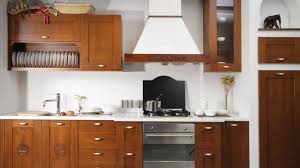 Menards Unfinished Hickory Cabinets by Kitchen Impressive Hickory Kitchen Cabinet Crown Molding Charm
