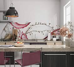 glasbild für küchenwände 80x50cm spritzschutz küche herd