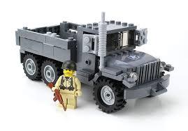 US Army M35 Truck Made With Real LEGO Bricks - Battle Brick Custom ...