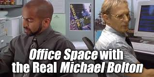 Office Space Quotes Inspiration Video With The Real Michael Bolton