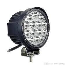 4 5 inch led road light bar spot beam 42w led work light for