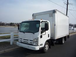 USED 2014 ISUZU NPR-HD BOX VAN TRUCK FOR SALE IN IN NEW JERSEY #11353