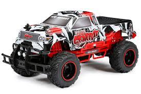 100 Rc Scale Trucks New Bright RC 110 Speedy Graffiti Radio Control Truck Red