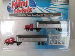 Classic Metal Works N Scale '54 Ford Tractor / Covered Wagon 2 Pack ...