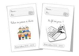 Les Pages De Garde 20172018 Au Format A5 Et Petits Macarons