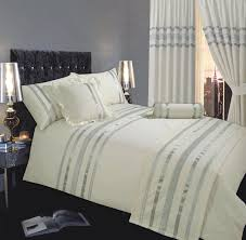 Gold And White Curtains Uk by White And Gold Duvet Cover Uk Sweetgalas