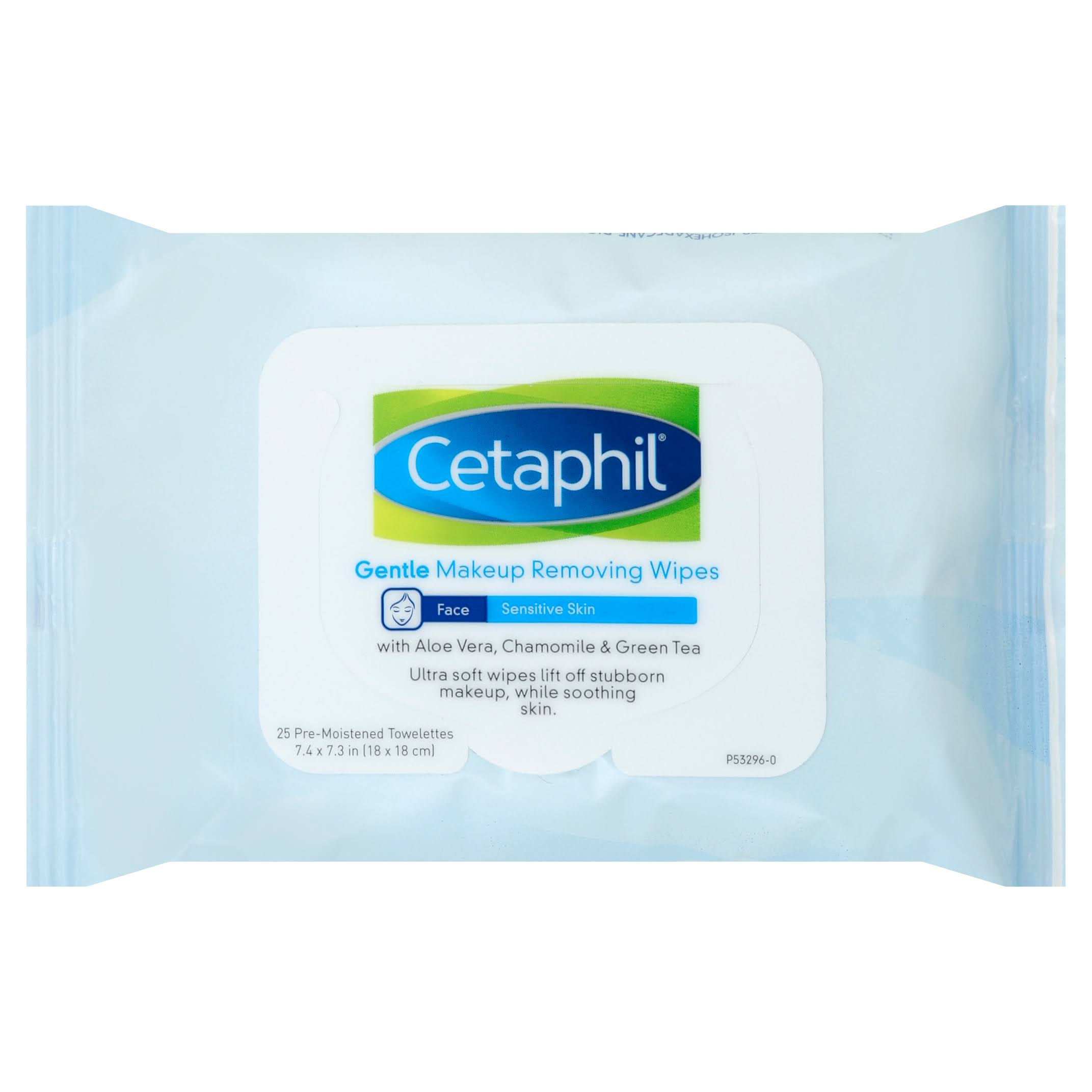 Cetaphil Gentle Makeup Removing Wipes - 25 Count