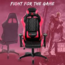 Eurostile Gaming Chair Ergonomic Racing Style Executive Chair High-Back  Leather Office Chair With Adjustable Back 7219(Pink) Akracing Core Series Blue Ex Gaming Chair Nitro Concepts S300 4 Color Available Nitro Concepts Iex Gravity Lounger Gamer Bean Bag Black 70cm X 80cm Large Video Eertainment Bags Scan Pro On Twitter Ending Something You Can Accsories Kinja Deals You Can Game Like Ninja With This Discounted Summit Desk Ln94334 Carbon Inferno Red