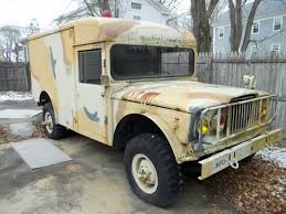 Solid 1967 Kaiser JEEP Military Ambulance   Military Vehicles For ... Military Vehicle Wikipedia This Exmilitary Offroad Recreational Vehicle Is A Craigslist M936a2 5 Ton Wrecker Crane Truck Sold Midwest Cariboo 6x6 Trucks 1980 Land Rover Series Pre Defender Pickup For Sale 1942 Dodge Wc Wc56 Command Vehicle Sale Classiccarscom Cc 1986 110 Military Stock 17030 Near New 1962 M 37 Vehicles For Vintage Military Sales And Restoration Hungary Hungarian Vehicles For Sale Make Your Surplus Hummer Street Legal Not Easy Impossible German 8ton Halftrack Tops 1 Million At Vehicl