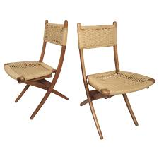 Rope Chair Vintage Mid Century Modern Folding Rope Chairs In The Style Of Hans Wegner 1960s Danish Bench Vonvintagenl Catalogus Roped Folding Chairs Yugoslavia Edition Chair Restoration And Wood Delano Natural Teak Outdoor Midcentury Pair Cord And Ebert Wels The Conran Shop