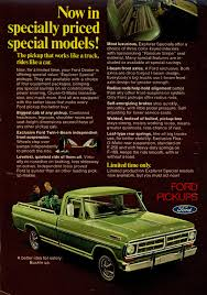 100 Oldride Classic Trucks 1971 Ford Pickup Advertisement Photo Picture