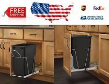 Under Cabinet Trash Can Pull Out by Pull Out Trash Can Ebay