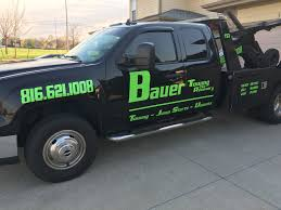 100 Tow Truck Kansas City Bauer Ing And Recovery 5312 NW 87th Ct MO 64154